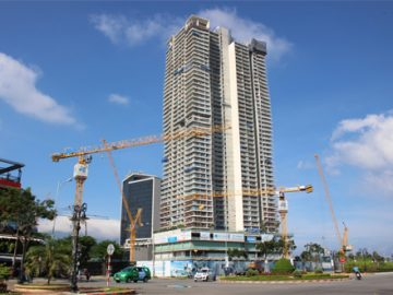 Construction progress of Wyndham Soleil Da Nang